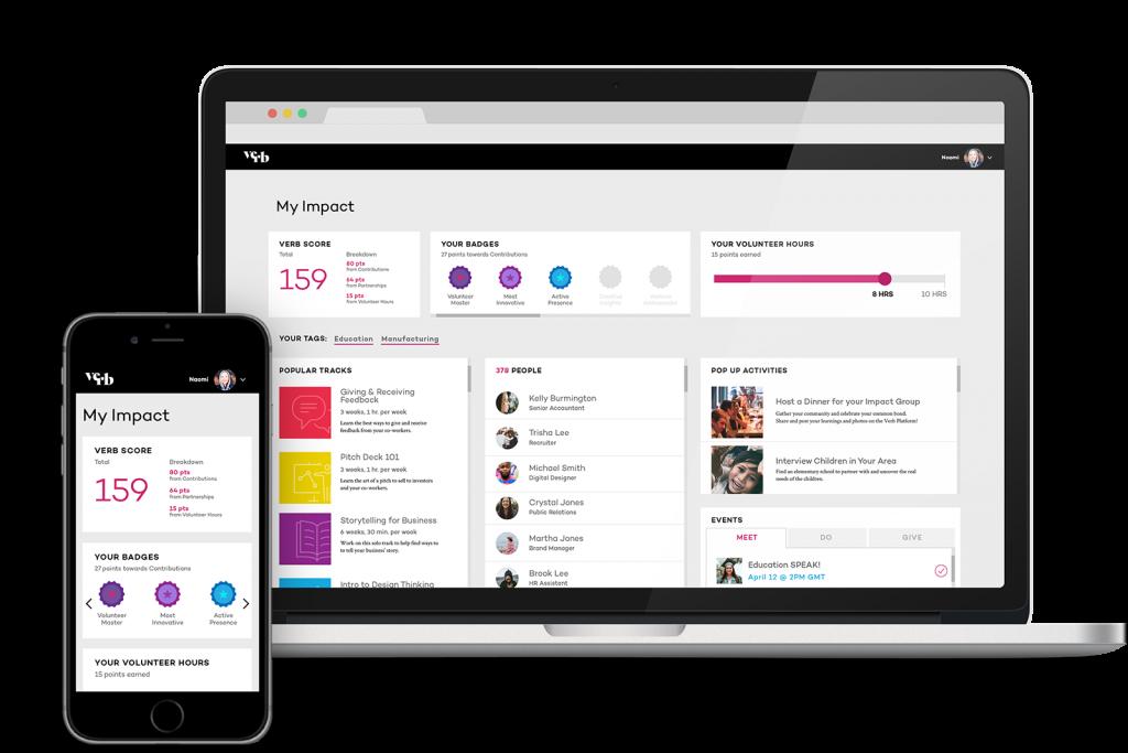 Verb Learning and Development Platform